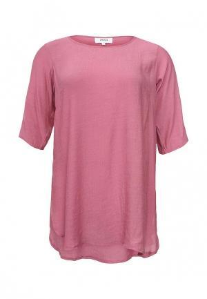 Блуза Zizzi. Цвет: розовый