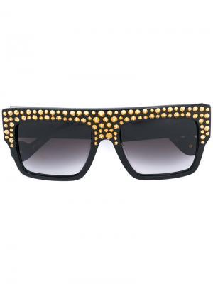 Солнцезащитные очки Mr. 3AM Anna Karin Karlsson. Цвет: чёрный
