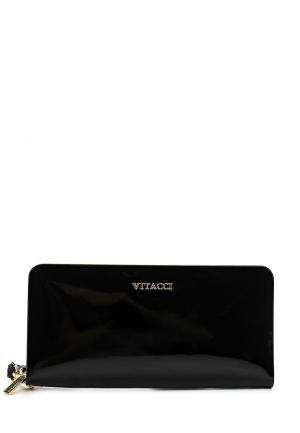 Кошелек Vitacci. Цвет: черный