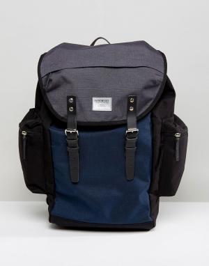 Sandqvist Темно-синий рюкзак Lars-Goran Cordura. Цвет: темно-синий