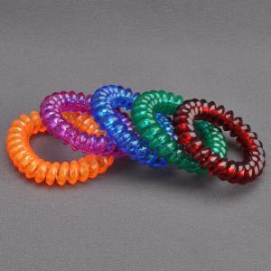 Комплект Резинок-Пружинок для волос 5 шт/уп, арт. РПВ-310 Бусики-Колечки. Цвет: разноцветный