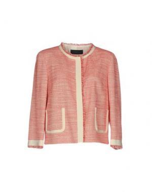 Пиджак LES COPAINS. Цвет: красный