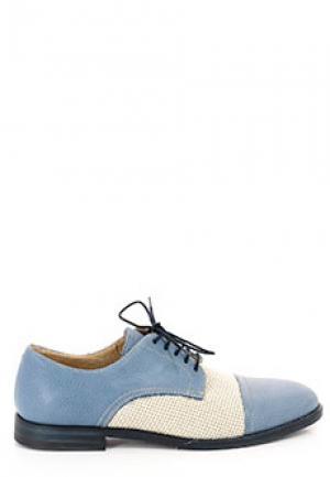 Дерби ALDO BRUE. Цвет: голубой
