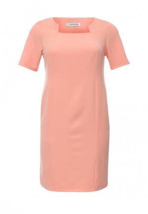 Платье Intikoma. Цвет: коралловый