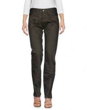 Джинсовые брюки CARHARTT. Цвет: зеленый-милитари
