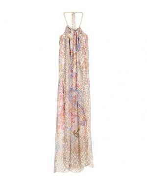Длинное платье ELLA LUNA. Цвет: песочный