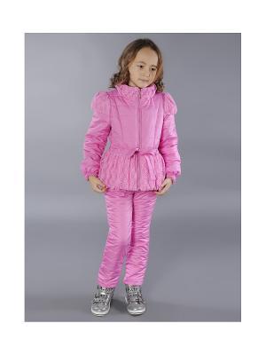 Комплект одежды Fleur de Vie. Цвет: розовый