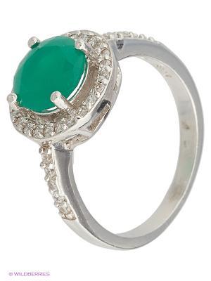 Кольцо Мастер Клио. Цвет: зеленый, белый