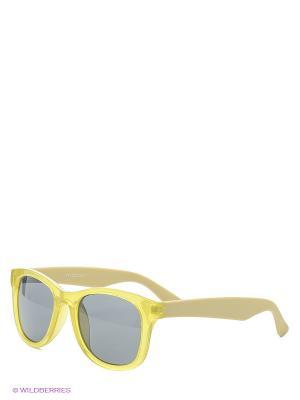 Солнцезащитные очки Motivi. Цвет: желтый, бежевый