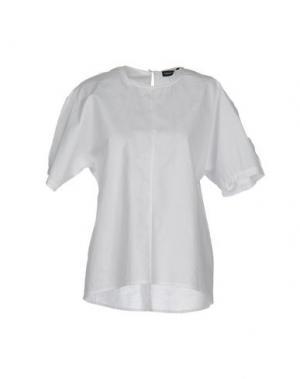 Блузка FABRIZIO LENZI. Цвет: белый