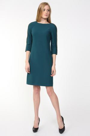 Платье Polin. Цвет: зеленый