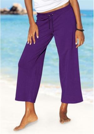 Пляжные брюки BEACH TIME. Цвет: белый, хаки, черный