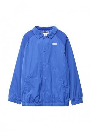 Куртка Converse. Цвет: синий