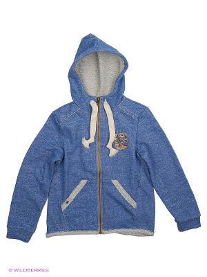 Куртка SMIL. Цвет: синий