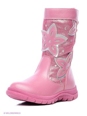 Сапоги Flamingo. Цвет: розовый
