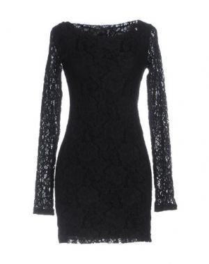 Короткое платье RA-RE. Цвет: черный