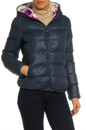 Куртка RISSKIO. Цвет: темно-синий