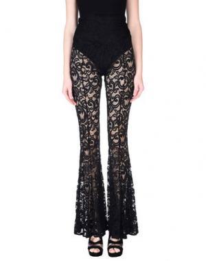 Повседневные брюки NORMA KAMALI. Цвет: черный