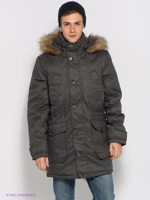Куртка Baon. Цвет: серый