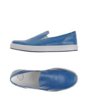 Низкие кеды и кроссовки BRAWN'S. Цвет: синий