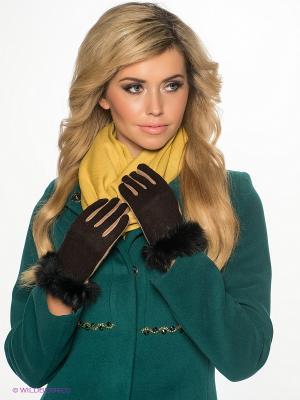 Перчатки Sabellino. Цвет: коричневый, бежевый