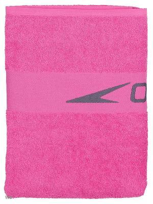Полотенце Speedo. Цвет: розовый, серый