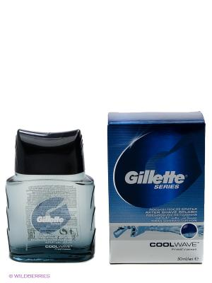 Лосьон после бритья Series, Cool Wave, 50 мл GILLETTE. Цвет: синий