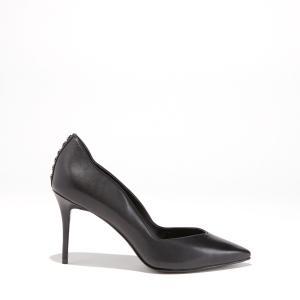 Туфли-лодочки кожаные с заострённым мыском BRIANNA KENDALL + KYLIE. Цвет: черный