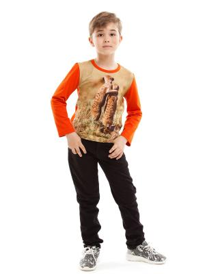 Пуловер TINYFOX. Цвет: терракотовый