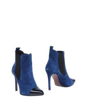 Полусапоги и высокие ботинки MI AMOR. Цвет: пастельно-синий