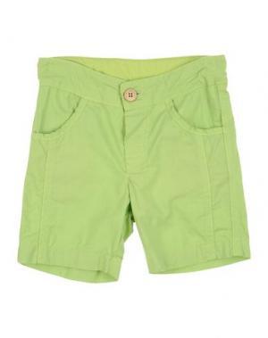 Повседневные брюки LES PARROTINES. Цвет: светло-зеленый