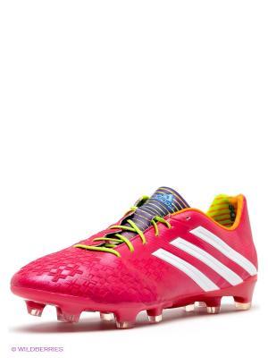 Футбольные бутсы Predator LZ TRX Adidas. Цвет: фуксия