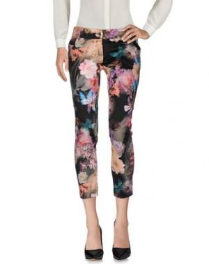 Повседневные брюки NINA AGHEN. Цвет: черный