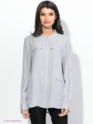 Блузка ZENDRA. Цвет: серый