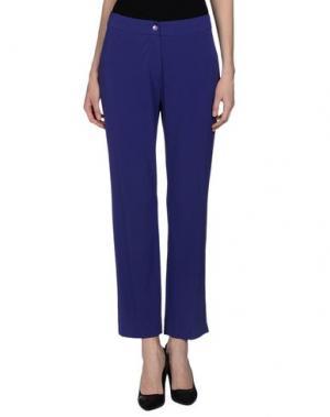 Повседневные брюки CALALUNA. Цвет: темно-фиолетовый