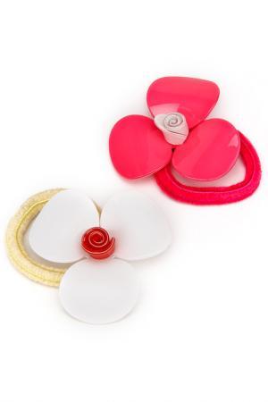 Набор резинок NICE GIRL. Цвет: белый, розовый