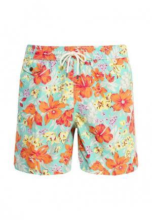 Шорты для плавания Polo Ralph Lauren. Цвет: разноцветный