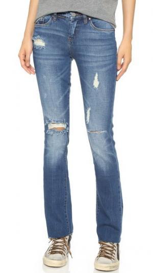 Свободные прямые джинсы Blank Denim. Цвет: shoot & score