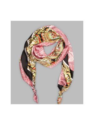 Платок Оланж Ассорти. Цвет: черный, розовый