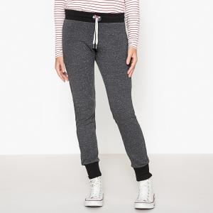 Брюки 2 TONES HIGH WOLF GREY BLACK SWEET PANTS. Цвет: серый