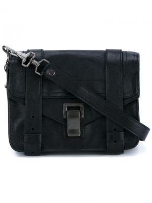 Мини сумка через плечо PS1 Proenza Schouler. Цвет: чёрный