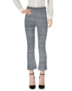 Повседневные брюки AKEP. Цвет: серый