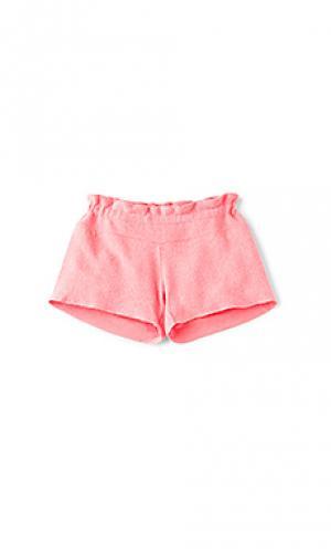 Обычные шорты Wildfox Couture. Цвет: розовый