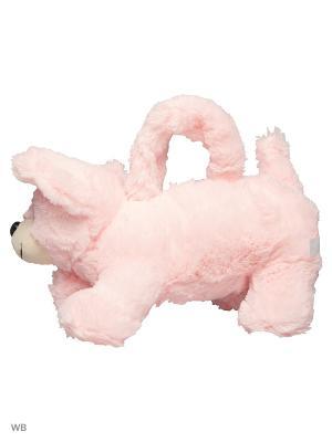 Сумочка Щенок роз. Fluffy Family. Цвет: розовый, белый
