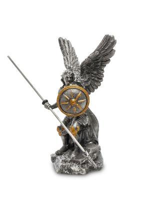 Статуэтка Святой Архангел Рафаэль Veronese. Цвет: серебристый, золотистый
