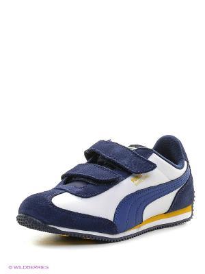 Кроссовки Whirlwind L V PS Puma. Цвет: синий, белый