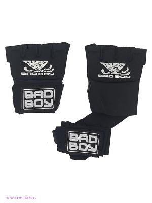 Бинты Bad Boy MMA Hand Wrap. Цвет: антрацитовый, белый