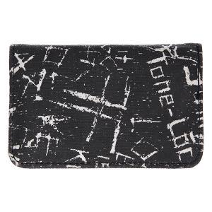 Визитница  Canvas Mini Wallet Vandal Fallen. Цвет: черный,белый