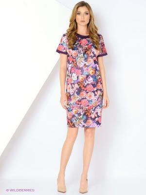Платье со складкой ADZHEDO