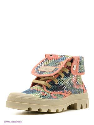 Ботинки El Tempo. Цвет: розовый